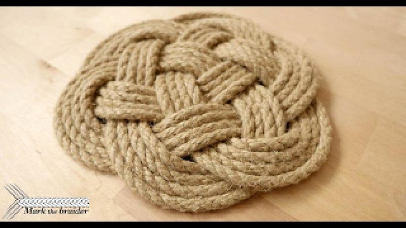 Thump mat rope hot pad