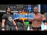 WWE 2K17 Wrestlemania 33 Simulation Seth Rollins vs Triple H Full Match