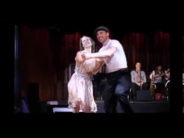 Шег под кантри танцуют Сандра Рёттиг и Штефан Зауэр