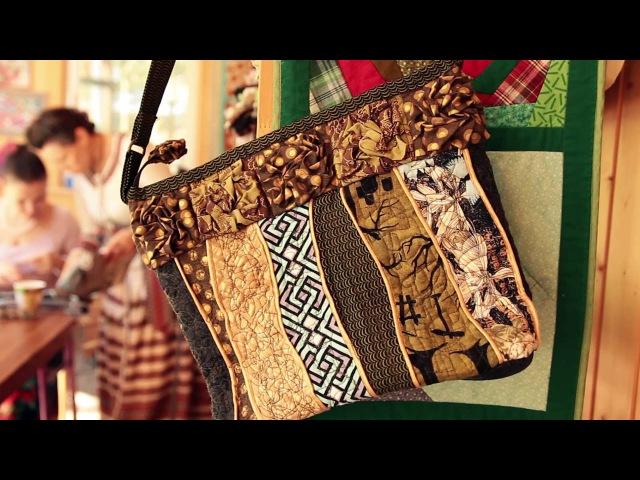 Лоскутное шитьё в экопоселении Милёнки 2016