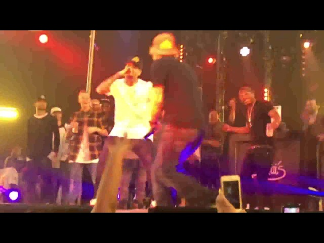 Chris Brown ft Ed Sheeran - Loyal Live at Drai´s Night Club