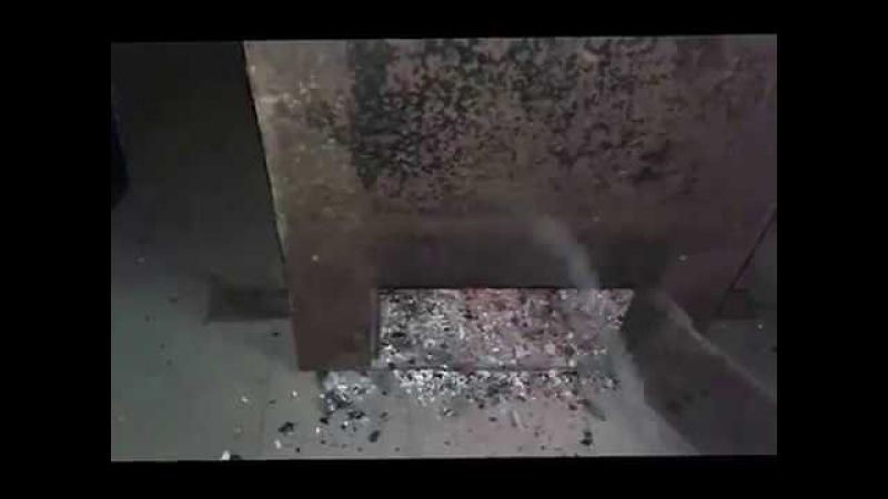 Как топить печь (котёл) углём