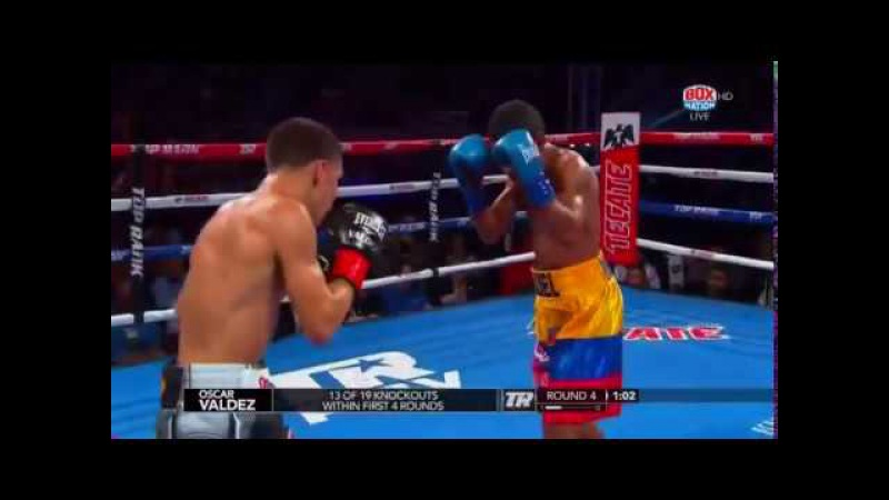 Oscar Valdez vs Miguel Marriaga Full Fight