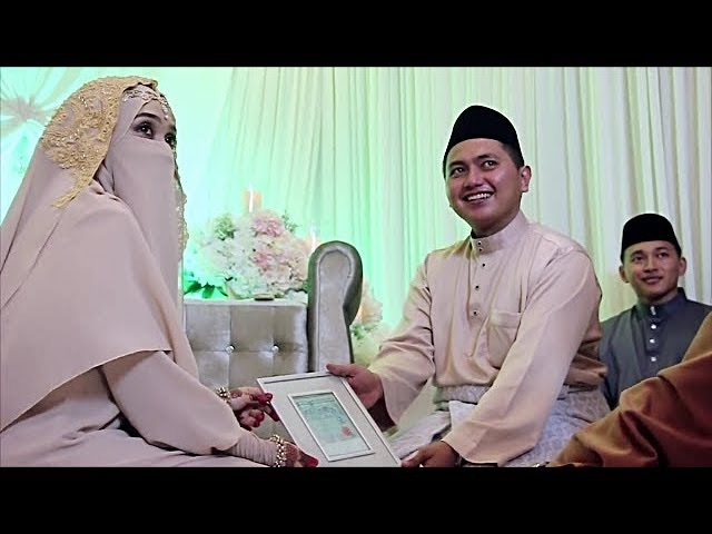 Sholawat Dauni Duaji | Wedding Muslimah Bercadar Bikin Baper |