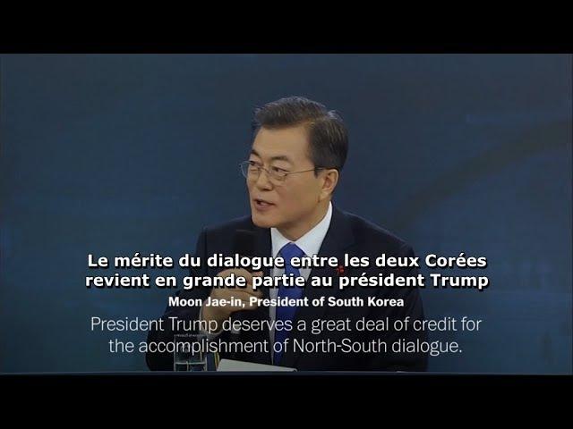 Le Président de Sud-Coréen contredit une Fake News de France 2 sur Trump (10/01/18)