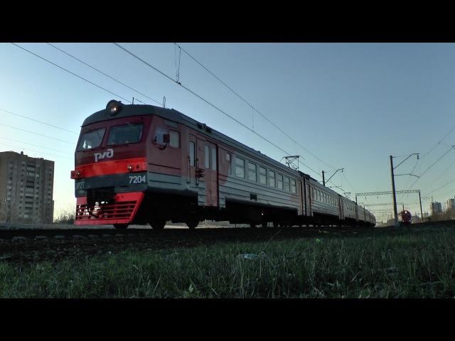 Электропоезд ЭР2т-7204