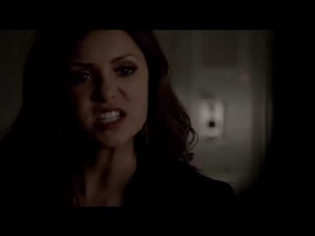 TVD 4x23 Katherine Pierce vs Elena Gilbert