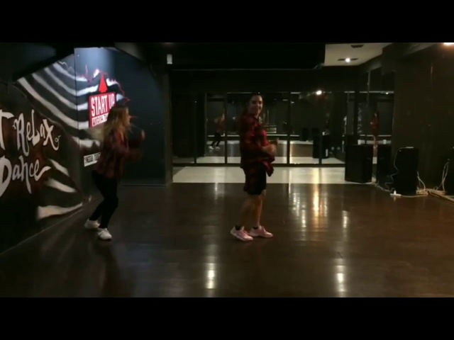 Choreography by Julia Ahmedova (female dancehall)