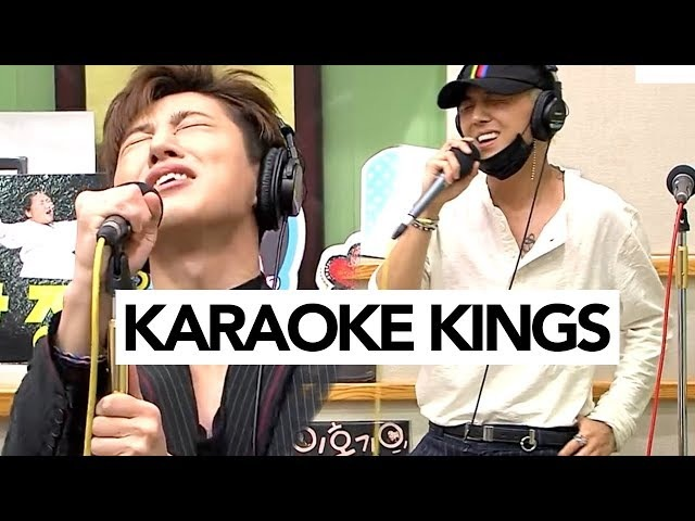 When YG Idols go on Radio Karaoke