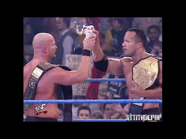 Stone Cold The Rock Vs Kurt Angle Chris Jericho