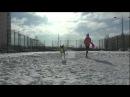 DOG FRISBEE TRAINING WITH CHABATTA