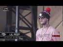 LIL PEEP - LIVE AT ROLLING LOUD BAY AREA (10 22 2017) FULL SET