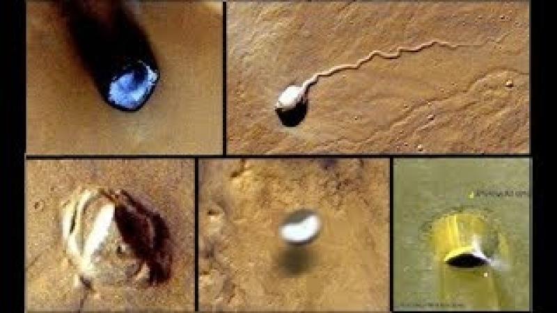 ESTRUCTURAS Y OBJETOS EXTRAÑOS EN MARTE ENCONTRADOS EN GOOGLE MARS