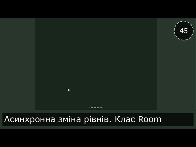Unity3D Українською Моя RPG Асинхронна зміна рівнів Клас Room