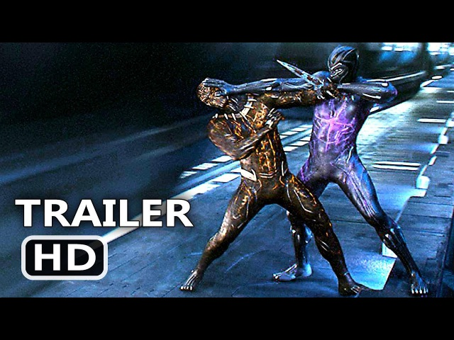 BLACK PANTHER International Trailer 2 (2018) Superhero Marvel Movie HD