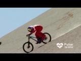 Спуск с горы на скорости 167 кмч Мировой рекорд «самый быстрый горный байкер» Max St ...