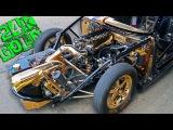 The Million Dollar Heart Attack! (24k Gold Car)