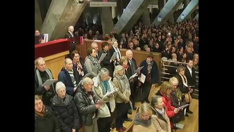 Lourdes : 11 février 2018 - La messe internationale de la fête de Notre-Dame de Lourdes
