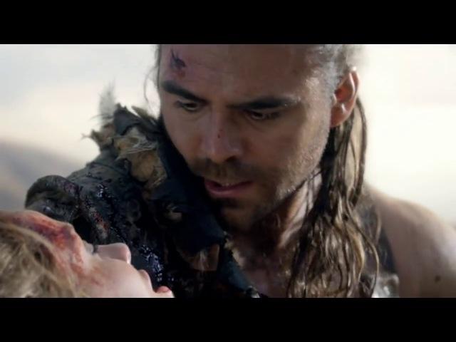 Сериал Спартак. Конец восстания. Цезарь убивает Нэвию