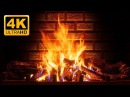 4K Relaxing Fireplace The Best Instrumental Christmas Music Crackling Fire Sounds 🔥 UHD 2 Hours