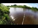 Рыбалка летом. Ловля щуки на озере.