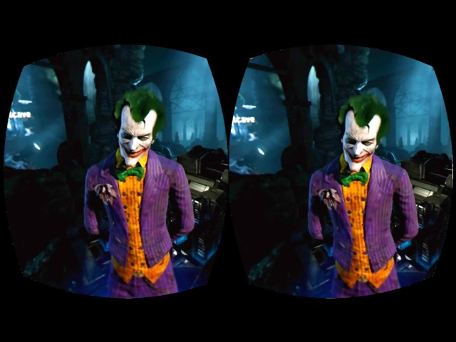 Batman Arkham VR Box Google Cardboard 3D SBS Virtual Reality Video