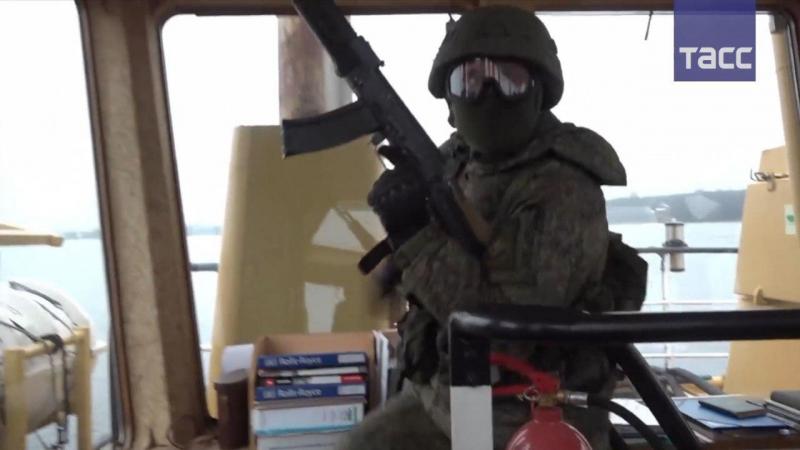 Как прошли 'антипиратские' учения российских морпехов
