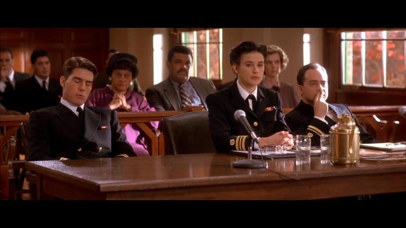 Несколько хороших парней / A Few Good Men (1992) BDRip 720p [vk.com/Feokino]