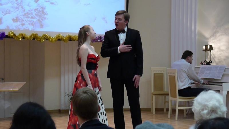 Дуэт Вали и Алексея из оперетты Искатели сокровищ