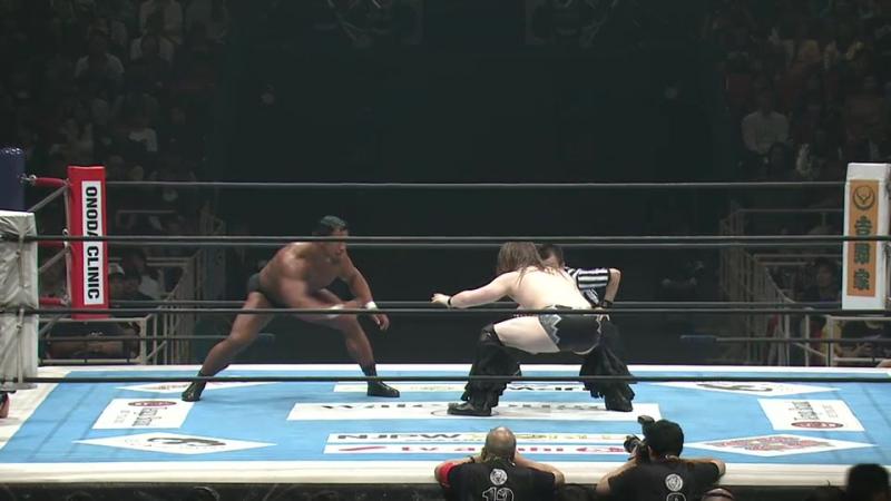 David Finlay vs. Katsuya Kitamura (NJPW - Power Struggle 2017)