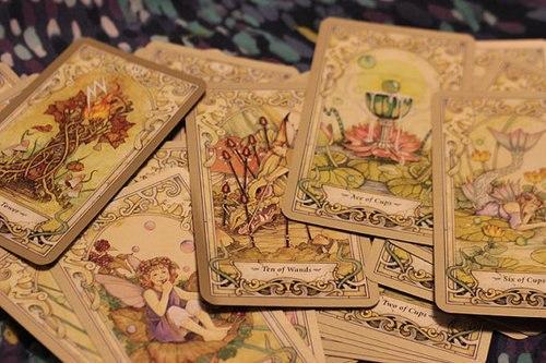Колода карт таро зеркало судьбы
