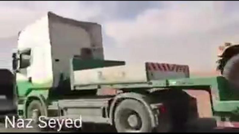 Хасаке, в Рожаву заехало около 100 грузовиков, груженых