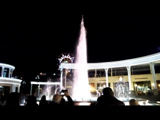 Кисловодск, цветомузыкальный фонтан