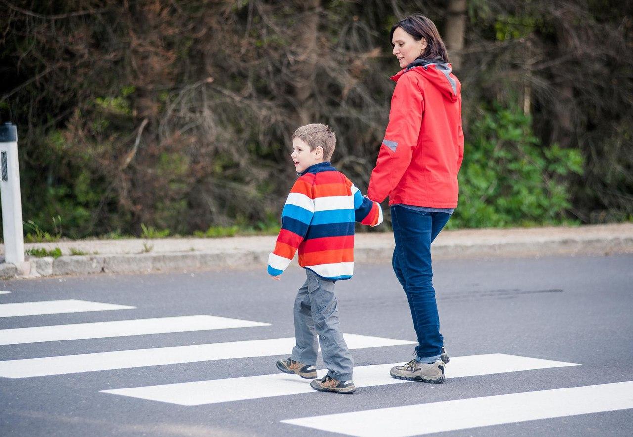 Внимание, юный пешеход