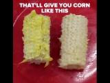 как правильно есть кукурузу?