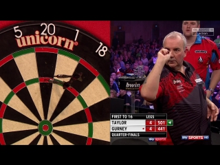 Phil Taylor vs Daryl Gurney (Grand Slam of Darts 2017 / Quarter Final)