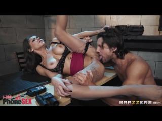 Madison Ivy - 1 800 Phone Sex Line 6 [Big Tits, Blowjob, Brunette, Facial, Feet, Work Fantasies, Brazzers, New Porn 2018]