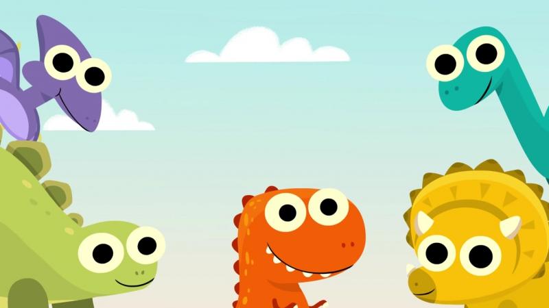 10 Little Dinosaurs (10 маленьких динозавров)