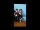 Девочки выясняют отношения в раздевалке после физ-ры