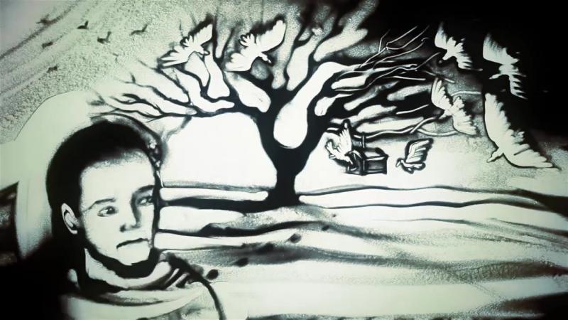 Песочная анимация ко Дню Защитника Отечества (Ксения Симонова)- Sand art for Men