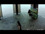 Как поджигали пианино в арт-сквере