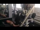 Жим ногами, 180 кг на 10 раз