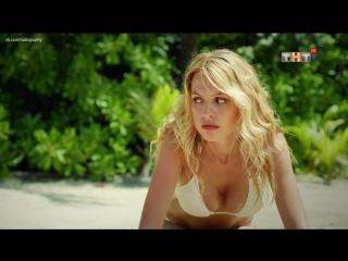 Отсосала на пляже - Янина Студилина в сериале Остров (2018) - Сезон 2 / Серия 13 (1080i)