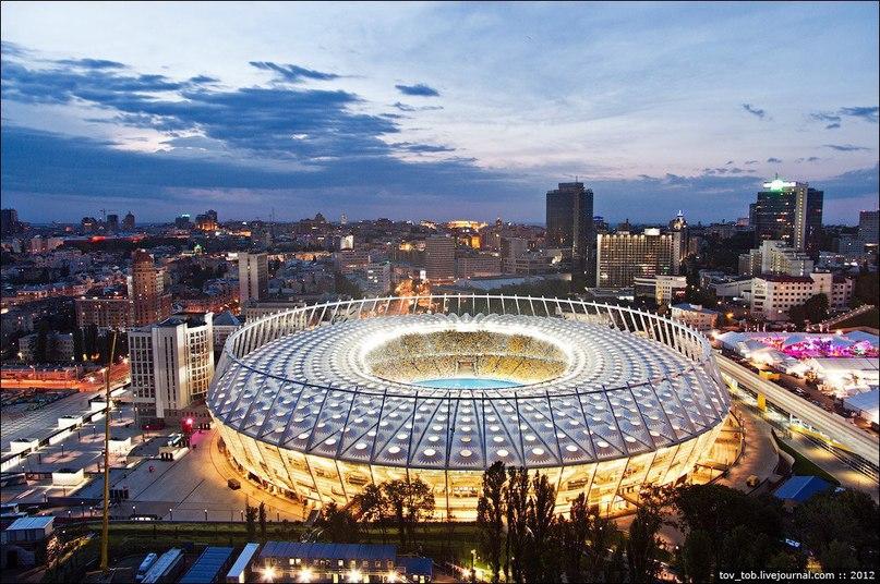 Самые красивые спортивные сооружения мира