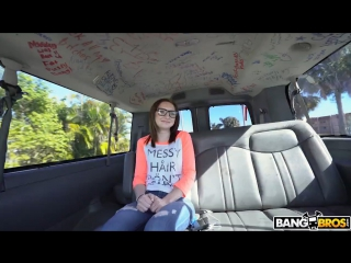 Bangbros - kelsey kage - hot nerd fucks on the bus - bangbus - all sex