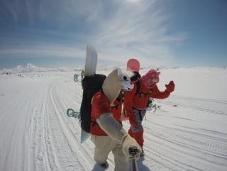 Snowkiting путешествие на Камчатку 2017