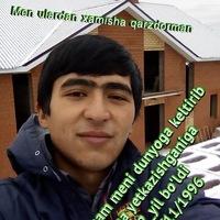 Анкета Murodbek Muminov
