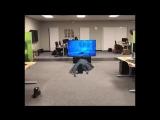 Сцена из «Звонка» в дополненной реальности