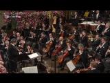 Wiener Musikvereins - Neujahrskonzert der Wiener Philharmoniker 2018 (Вена, 01.01.2018)