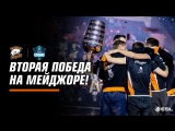 Интервью с командой после победы на ESL One Katowice.